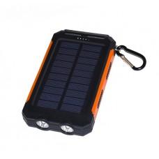 Купить аккумулятор внешний для телефона, планшета, похода, путешествия с солнечной батареей KS-is (KS-244BR) 7800 мАч
