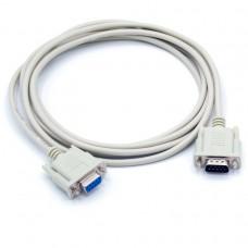 Купить консольный COM кабель RS-232 для последовательного соединения с разъемами DB9 Male, Female KS-is (KS-366-3) 3 метра