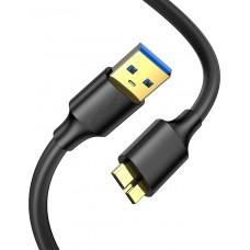 Кабель USB microUSB Type B 3.0 KS-is (KS-465)