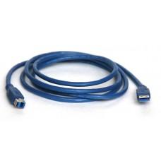 Кабель KS-is (KS-142) USB 3.0 AM/BM 1.8м