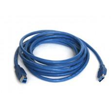 Кабель KS-is (KS-143) USB 3.0 AM/BM 3м