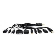Универсальный кабель 10 в 1 для зарядки цифр. моб. уст-в KS-is Tenka (KS-193)
