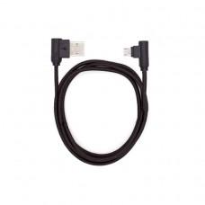Кабель USB-microUSB угловой KS-is (KS-356B) 1м