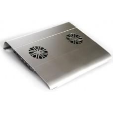 Охлаждающая подставка для ноутбука с USB 2.0 хабом KS-is Acool (KS-032)