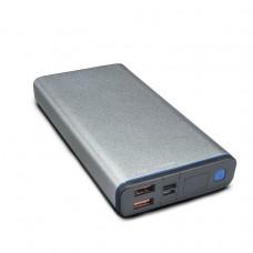 Купить универсальную батарею power bank KS-is (KS-316 Black/Silver/Grey) 30000мАч QC3.0