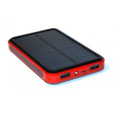 Купить аккумулятор внешний для телефона, планшета, похода, путешествия с солнечной батареей KS-is Lisu (KS-225) 13800 мАч