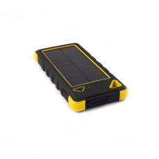 Купить аккумулятор внешний для телефона, планшета, похода, путешествия с солнечной батареей KS-is Lisu (KS-303) 20000 мАч
