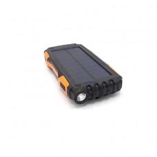 Внешний аккумулятор power bank с солнечной панелью KS-is (KS-303) 20000мАч