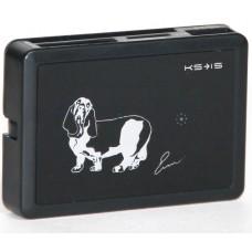 Картридер Hubry со встроенным USB хабом на 3 порта (KS-054)