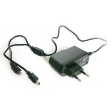 Зарядное ус-во (с кабелями) miniUSB/micro 2000мА от сети KS-is Mich (KS-003)