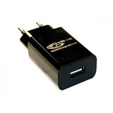 Зарядное устройство USB QC2.0 от электр. сети KS-is Qitroy (KS-289)
